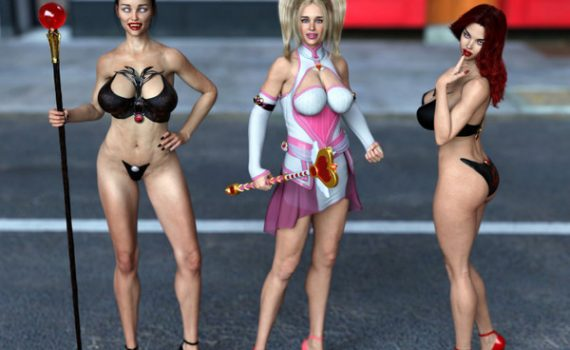 Artist Love3d - Heroine - Dickgirl on Female