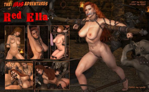Artist Killy – The Adventures of Red Ella 1-13