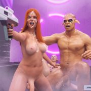 Artist GoldenMaster – First Contact 7 – Night of Primal Lust