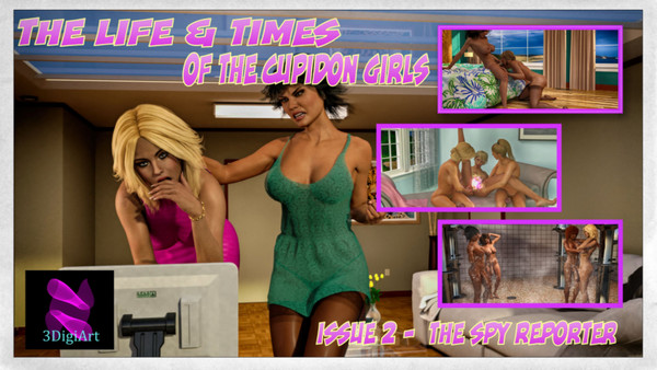 Artist 3DigiArt – Life & Times Of The Cupidon Girls 1-2