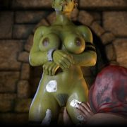 Artist IronRooRoo – An Orc's Tale – Part 1