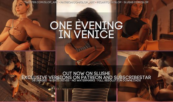 Artist SloP – One Evening in Venice